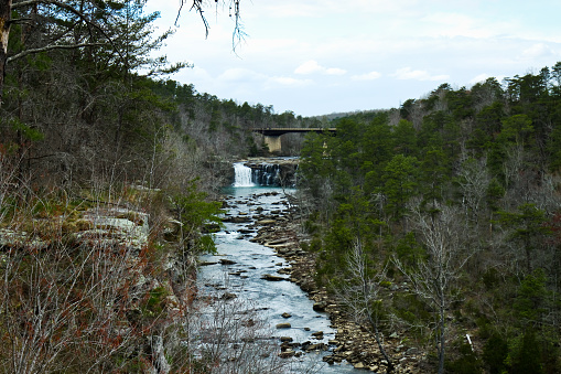 istock Little River Canyon Alabama USA 1156139649