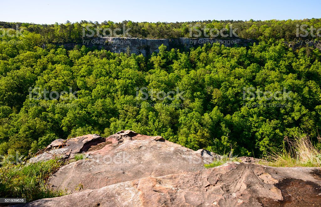 Little River Canyon National Preserve stock photo