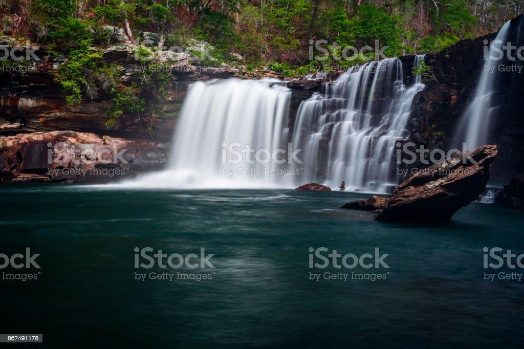 Little River Falls stock photo