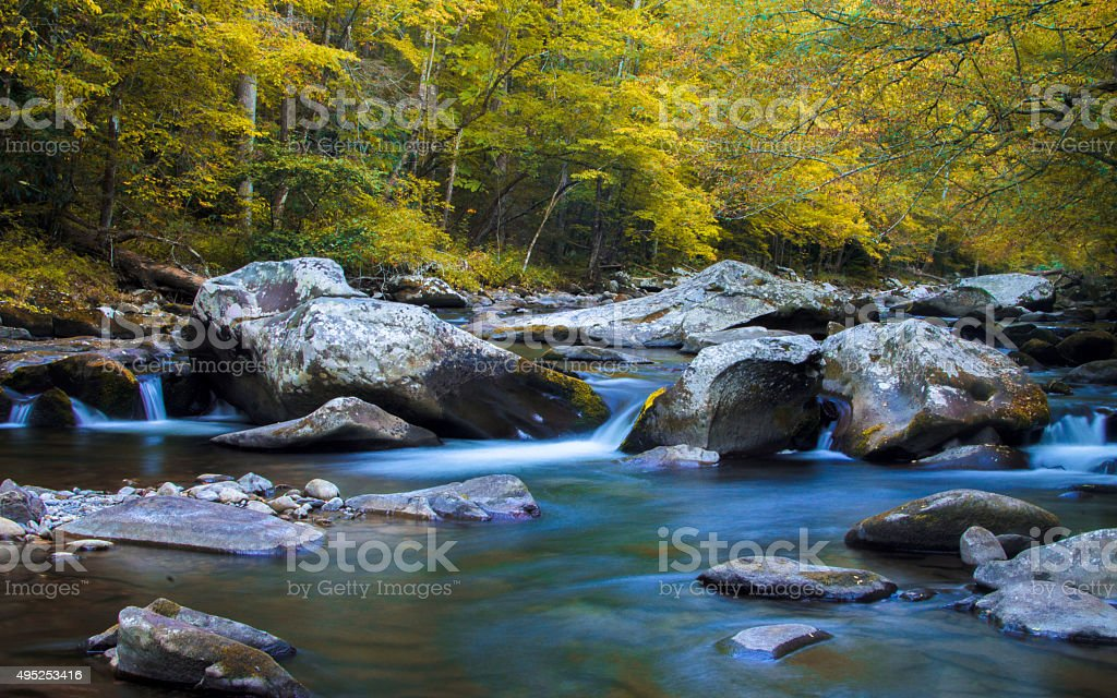 Little River stock photo