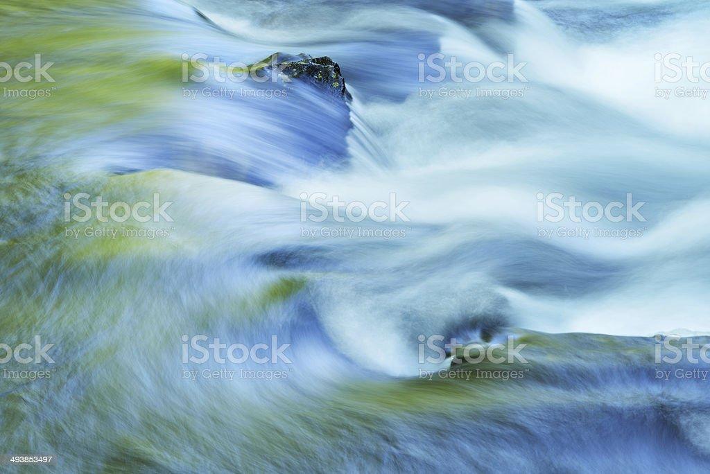 Little River Rapids stock photo