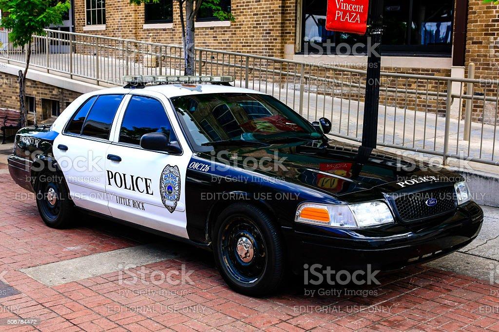 Little Rock Arkansas City Police Vehicles Stock Photo - Download
