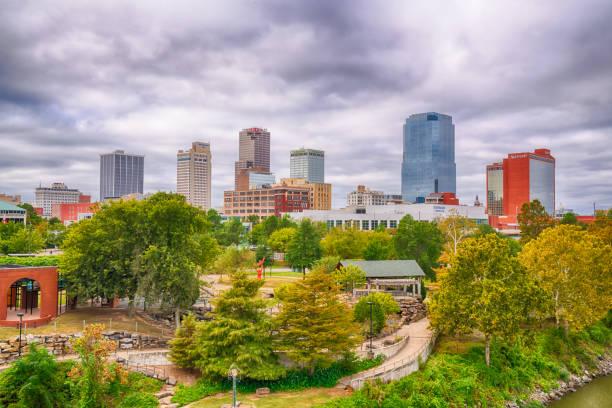 Little Rock, Arkansas City Skyline stock photo