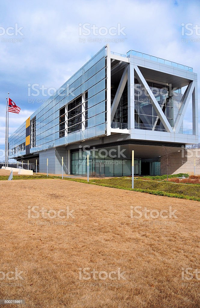 Little Rock, Arkansas: Clinton Library stock photo
