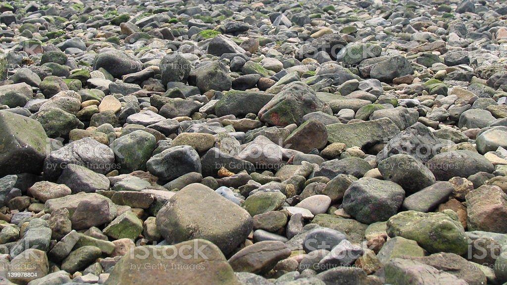 Little rocks royalty-free stock photo