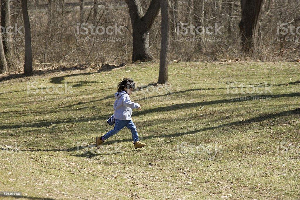 Little Runner royalty-free stock photo