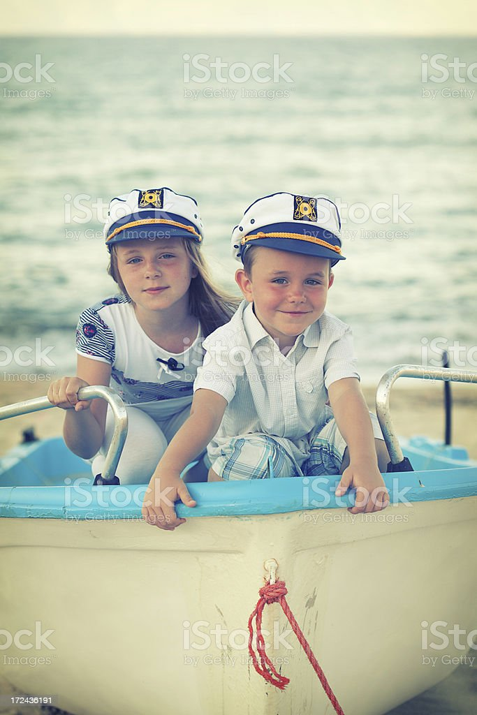 Little sailor royalty-free stock photo