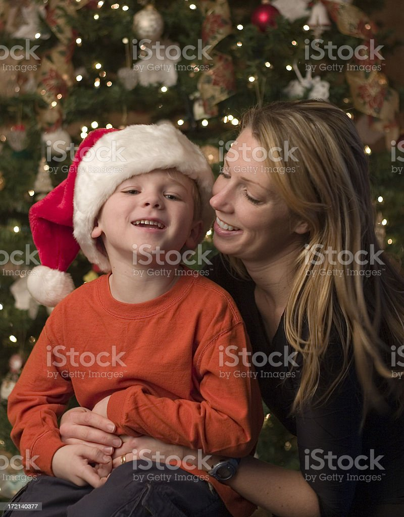 little santa royalty-free stock photo