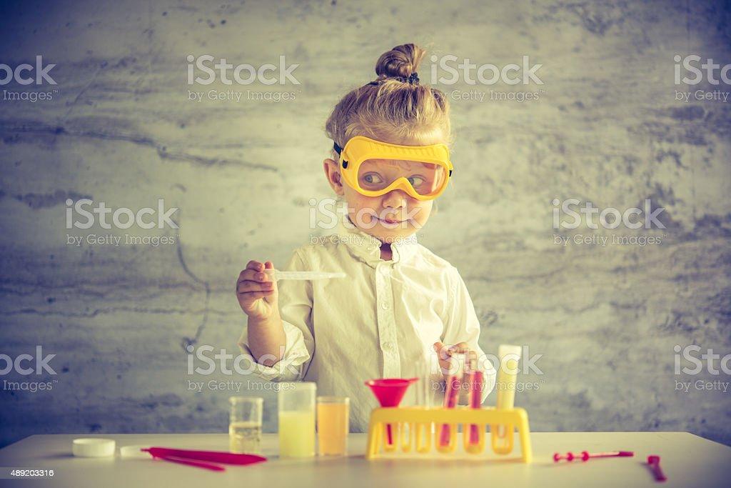 Little Cientista - foto de acervo