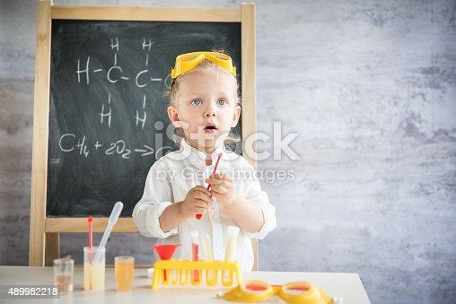 istock Little scientist 489982218