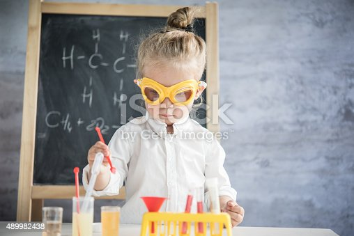 istock Little scientist 489982438