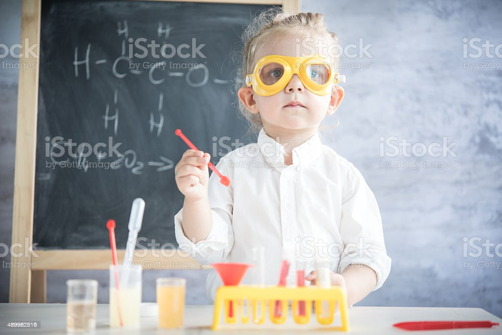 Little scientist​​​ foto