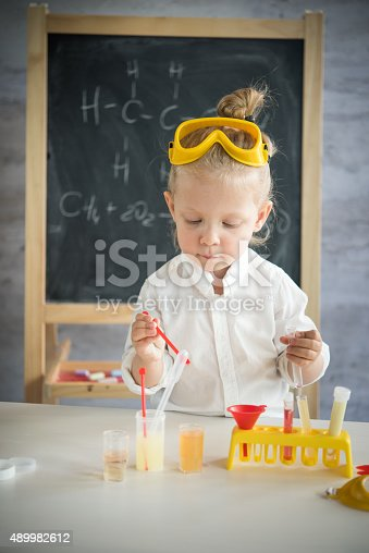 istock Little scientist 489982612
