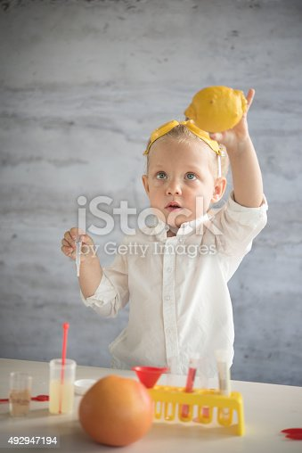 istock Little scientist 492947194