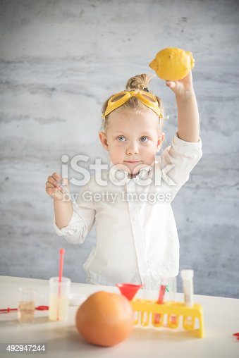 istock Little scientist 492947244