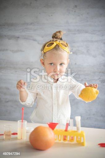 istock Little scientist 492947294