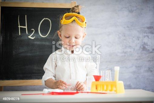 istock Little scientist 492948278
