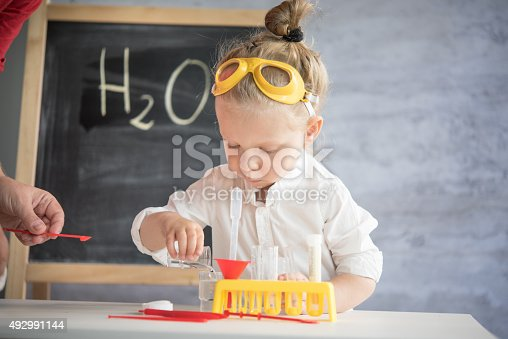 istock Little scientist 492991144