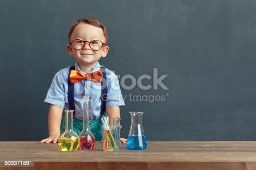 istock Little scientist 503371591