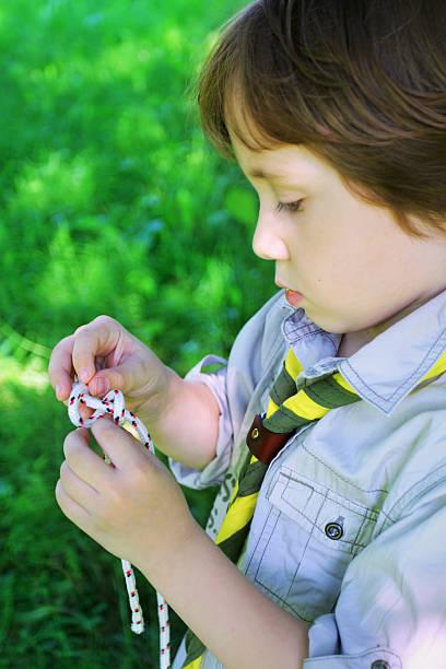 Mały scout Węzeł – zdjęcie