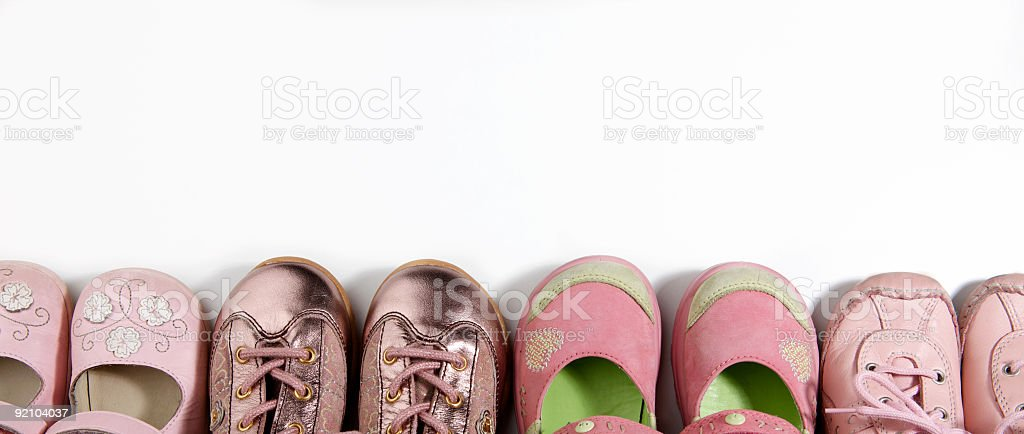 little shoes stock photo
