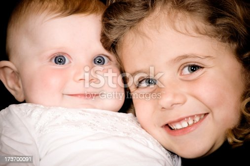 istock Little sisters 173700091