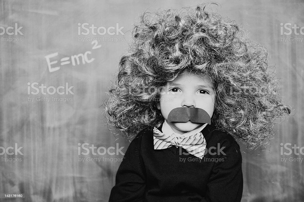 Little Smart Man stock photo