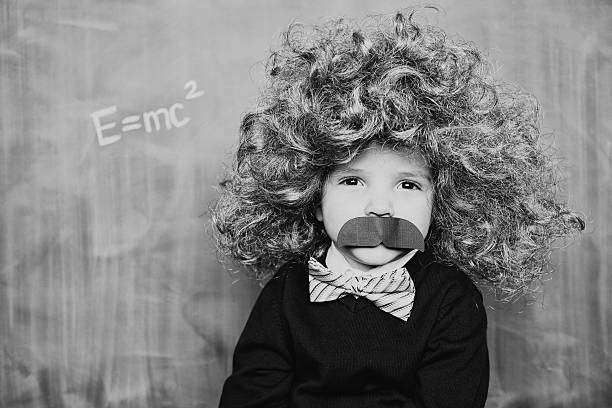 little smart man - genius stock photos and pictures