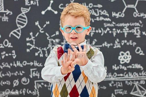 143176157 istock photo Little smart man 914775826