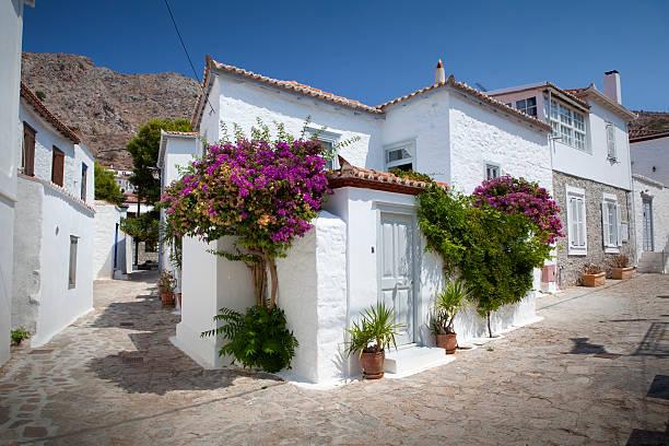 Petites rues et maisons d'Hydra - Photo