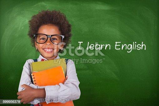 child, student, chalkboard, notebook, school