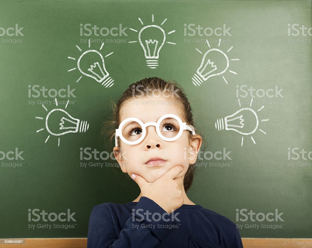 little student stock photo