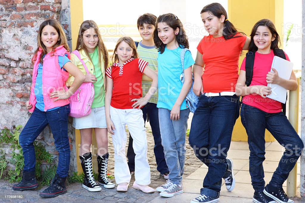 little students royalty-free stock photo