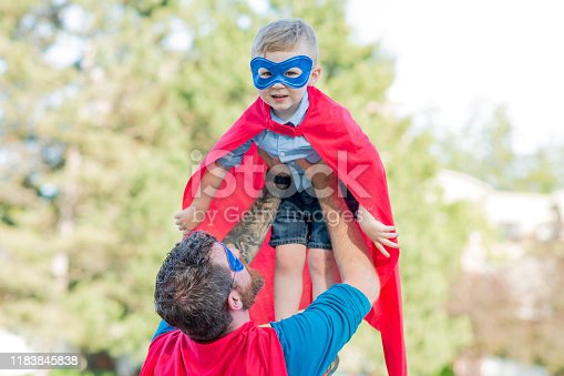 516318379 istock photo Little Superhero 1183845838