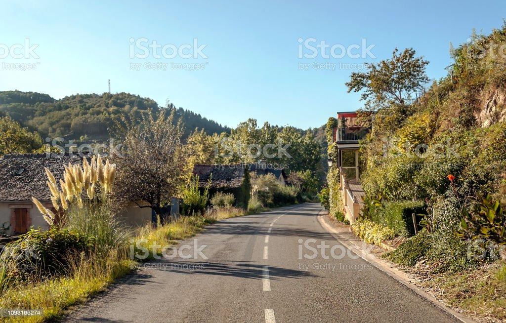 Little town stock photo