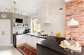 Little trendy kitchen