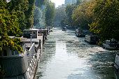 Houseboats at Little Venice, London, England
