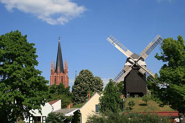 작은 타운명을 - 브란덴부르크 주 뉴스 사진 이미지