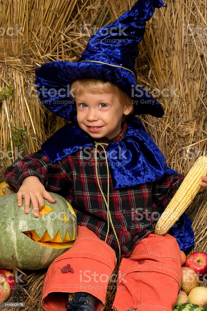 little wizard royalty-free stock photo