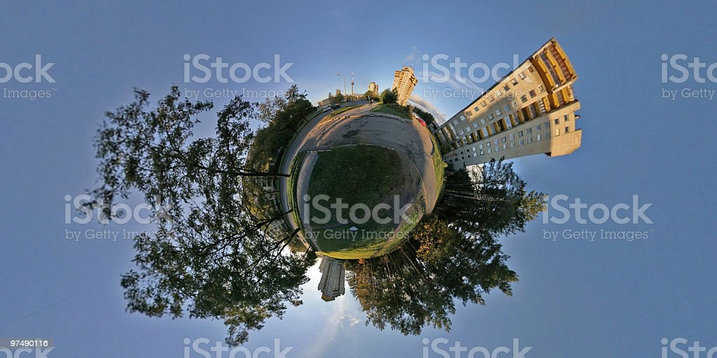 Little world royalty-free stock photo