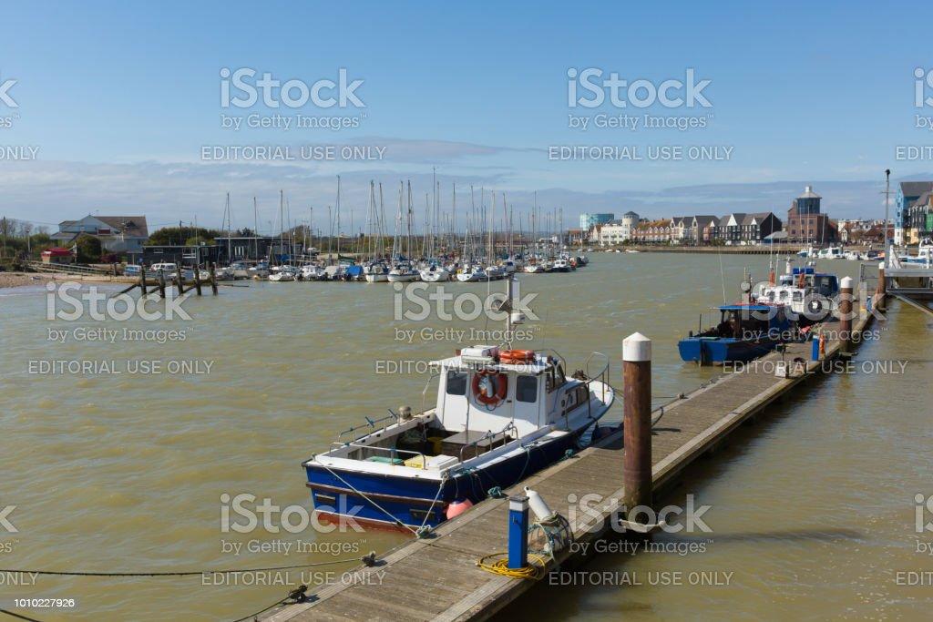 Littlehampton West Sussex England UK River Arun – zdjęcie
