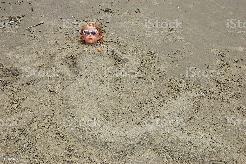 Littlest Mermaid 2 stock photo
