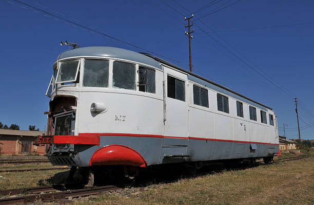 Littorina Train, Asmara, Eritrea stock photo