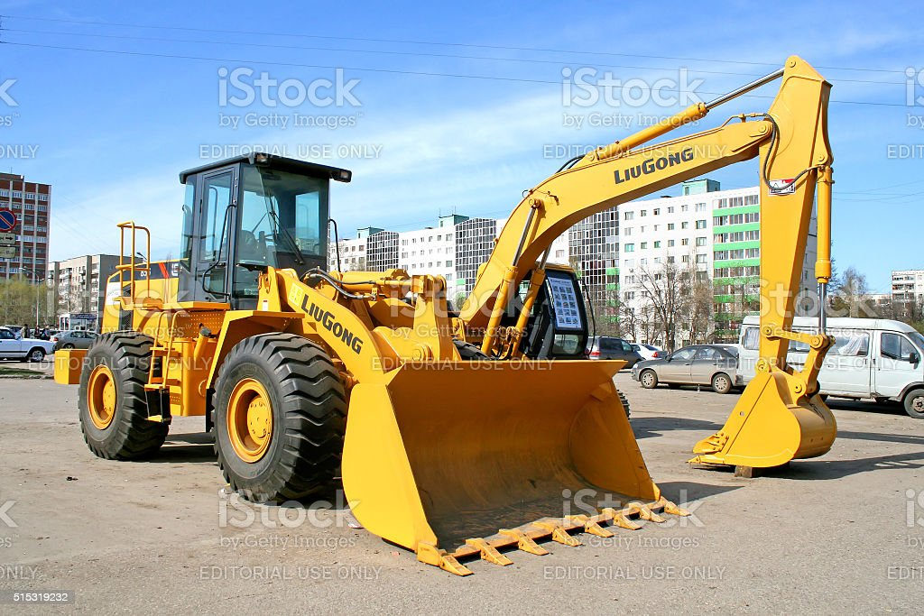 LiuGong 856 stock photo