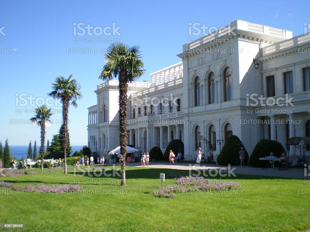 Livadia palace(Crimea.Yalta) stock photo