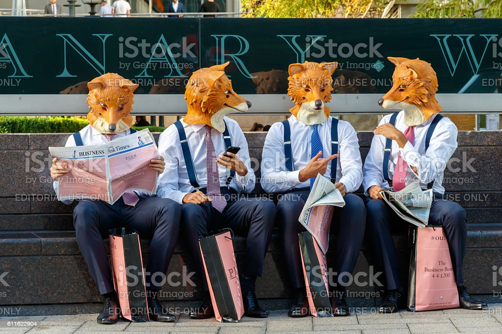 Live Action Promotional Campaign stock photo