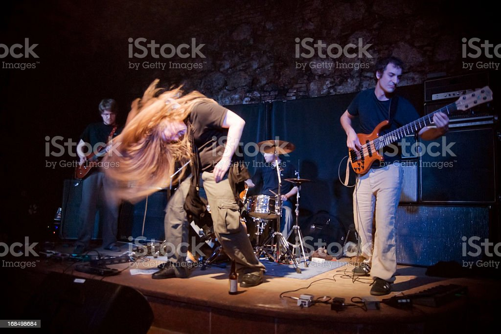 Live Band stock photo