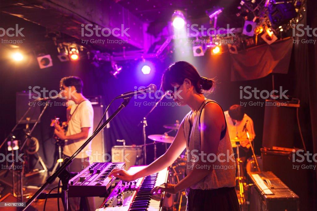 Ao vivo Concert - foto de acervo