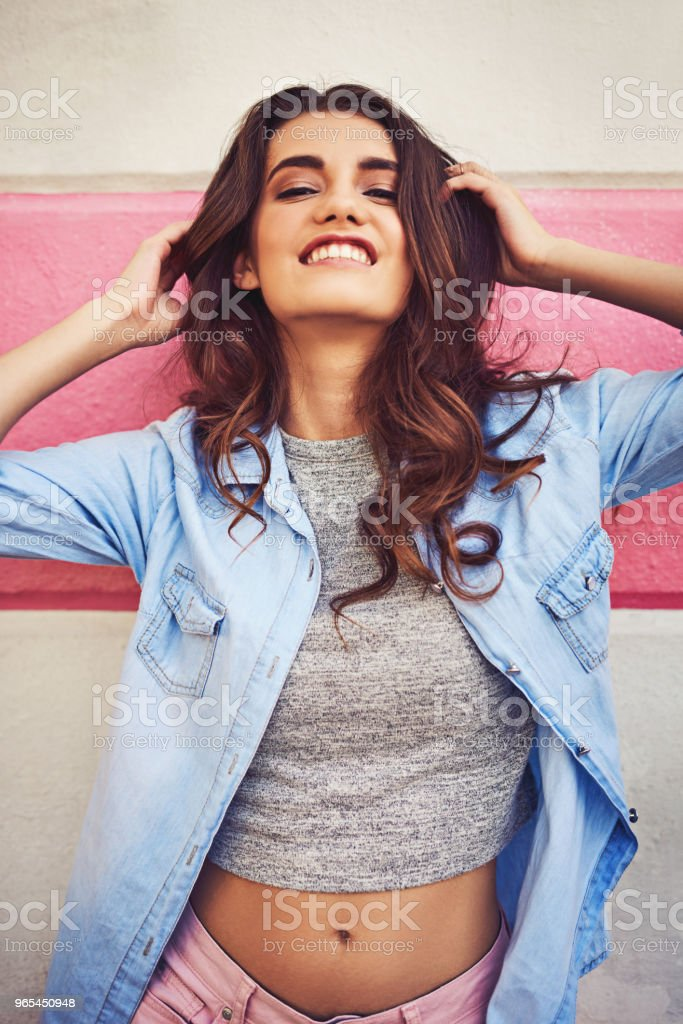 Live for the moments you can't put into words royalty-free stock photo