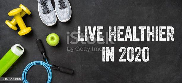 istock Live healthier in 2020 1191209365